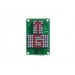 Dot matrix LED display/indicator