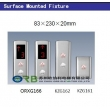 Surface mounted LOP