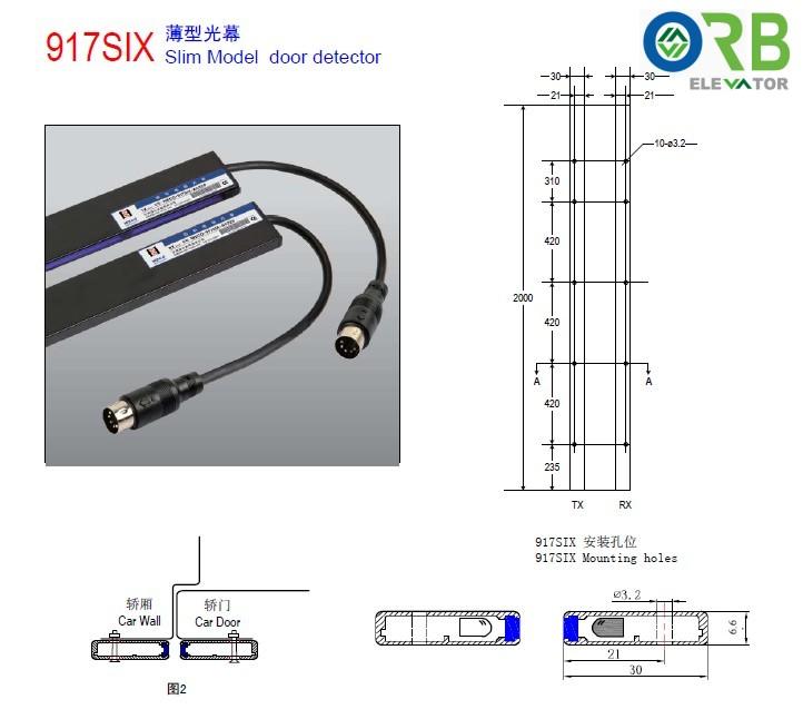 2.5 Light curtain/door detector