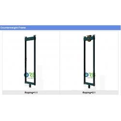 Counterweight frame
