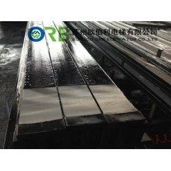 Machined guide rail